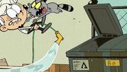 S2E02A Raccoon attacks Lincoln