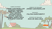 Creditos de doblaje The Loud House PTBR (S223-2)