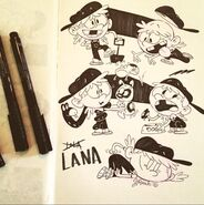 Lana Sketches