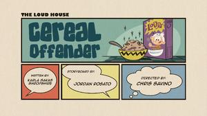 Cereal Offender