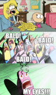 Lola loud bald bald bald by prstorm-dbgpgxp