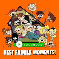 Nickelodeon The Loud House Characters Family Promo