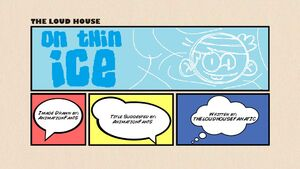 On Thin Ice Title Card