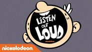 'Listen Out Loud Podcast 1 Meet The Loud Family' The Loud House Nick