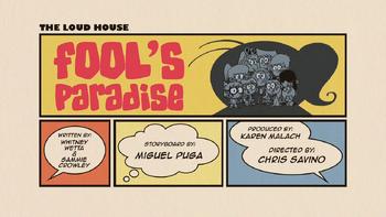 The loud house Temporada 02 Capitulo 16 - Paraiso de tontos Cambio de trabajo