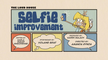 The loud house Temporada 03 Capitulo 04A - Mejoras a las selfies