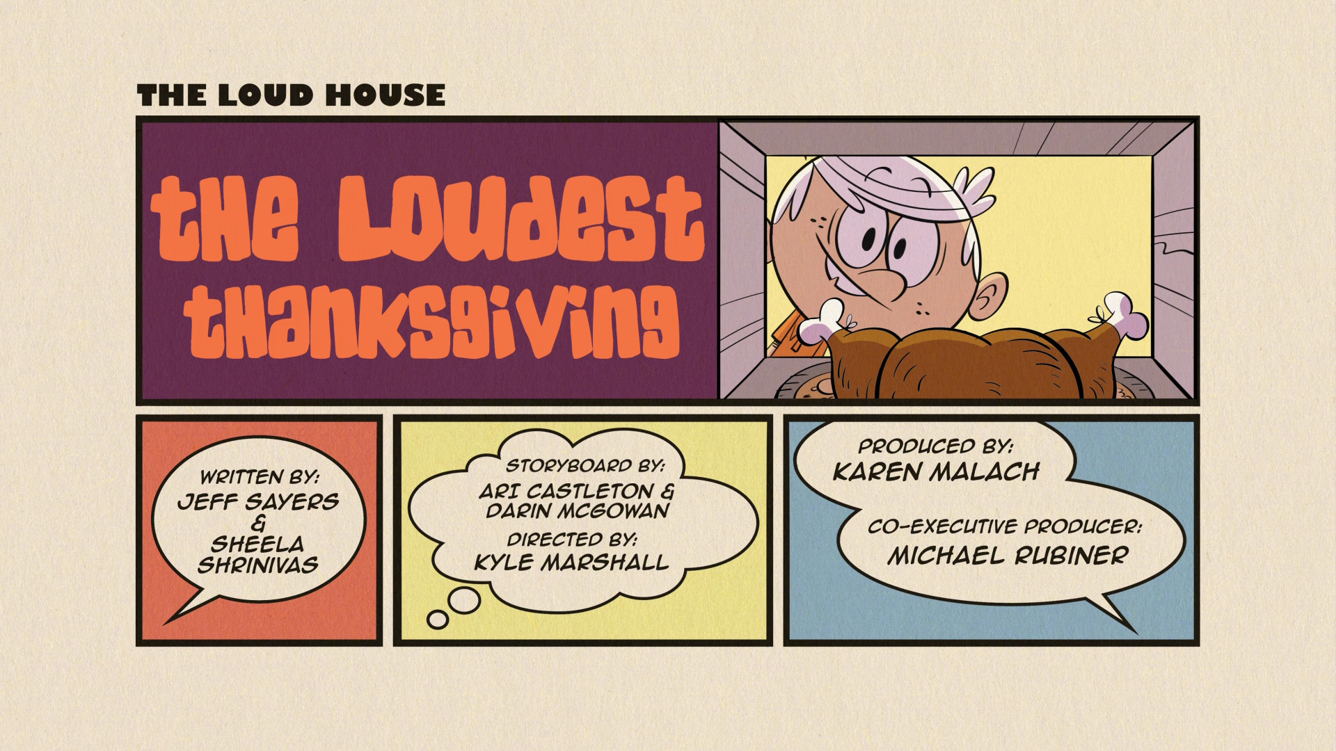 The Loudest Thanksgiving | The Loud House Encyclopedia | FANDOM