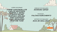 Creditos de doblaje The Loud House PTBR (S124-2)