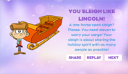 Lincoln Sleigh