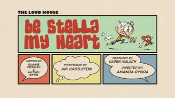The loud house Temporada 03 Capitulo 15B - mi amor Stella