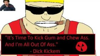 It's time to kick gum