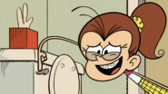 S2E21A Luan flushes the toilet