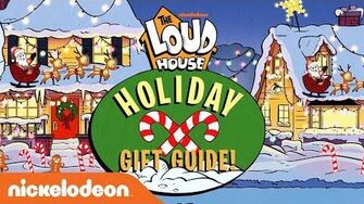 Lincoln's Holiday Gift Guide 🎁 The Loud House Nick