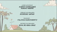 Creditos de doblaje The Loud House PTBR (S107-2)