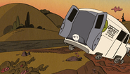 S2E11B Crashed van
