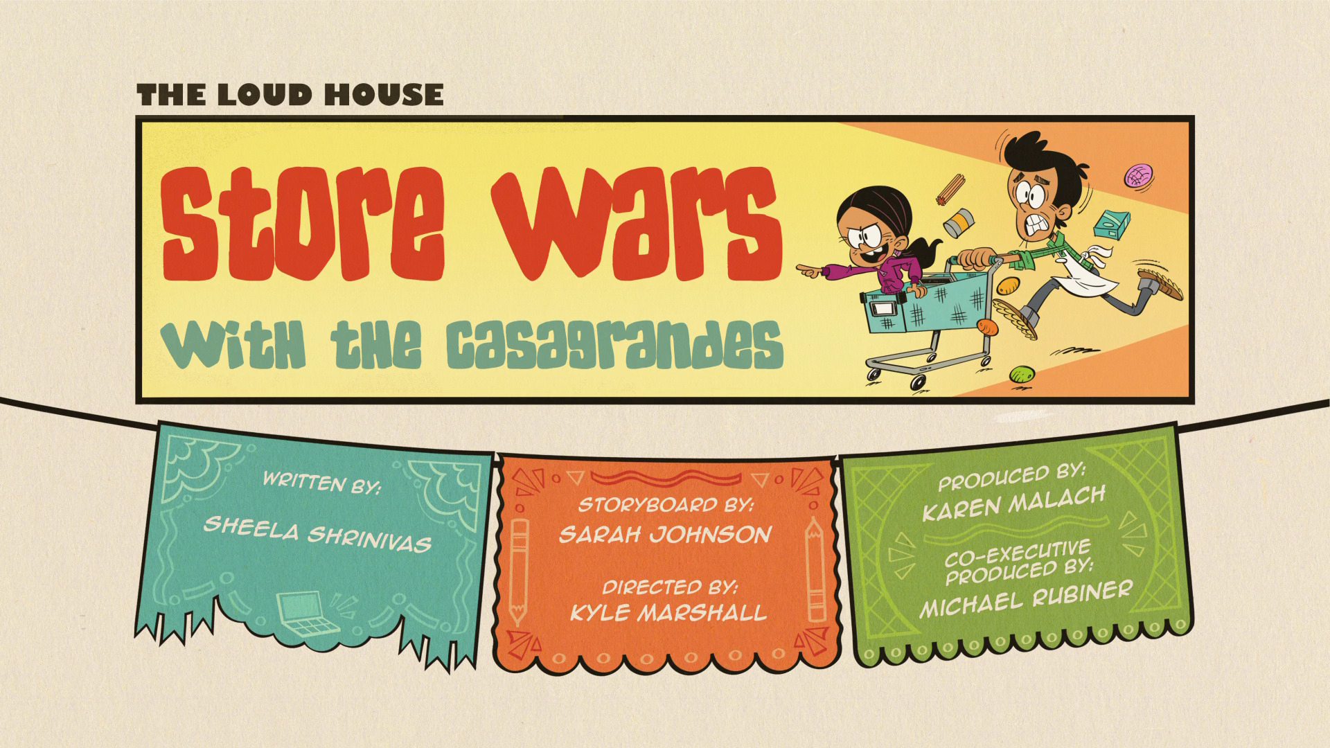 Store Wars with the Casagrandes | The Loud House