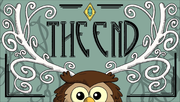 The end fortune card