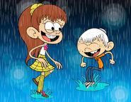 Frames of love luan and lincoln loud by mickeyelric11-db63gqo