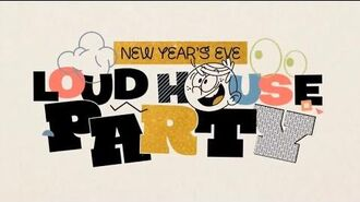 The Loud House New Year's Eve Loud House Party promo commercial - Nickelodeon