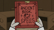 S2E15B Ancient book of spells