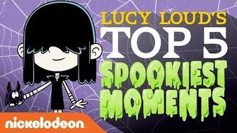 Lucy Loud's Top 5 Spookiest Moments! 🕷️ Halloween at The Loud House Nick