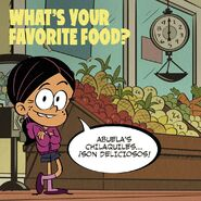 Ronnie Anne's Food Question