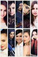 Sofia Carson collage