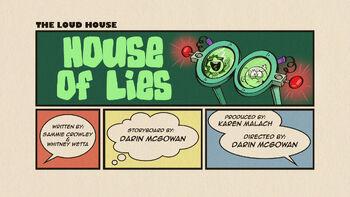 The loud house Temporada 03 Capitulo 18A -  La casa de las mentiras