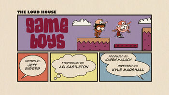 The loud house Temporada 03 Capitulo 18B - Chicos jugadores