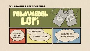 Feldwebel Lori