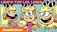 Leni Loud's Top LOL Lines! 🤣 The Loud House TBT