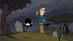 S03E23A Visiting grave