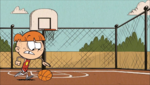 S1E21A Liam playing basketball