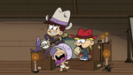 S1E26B Luna, Lily and Lana in western wear