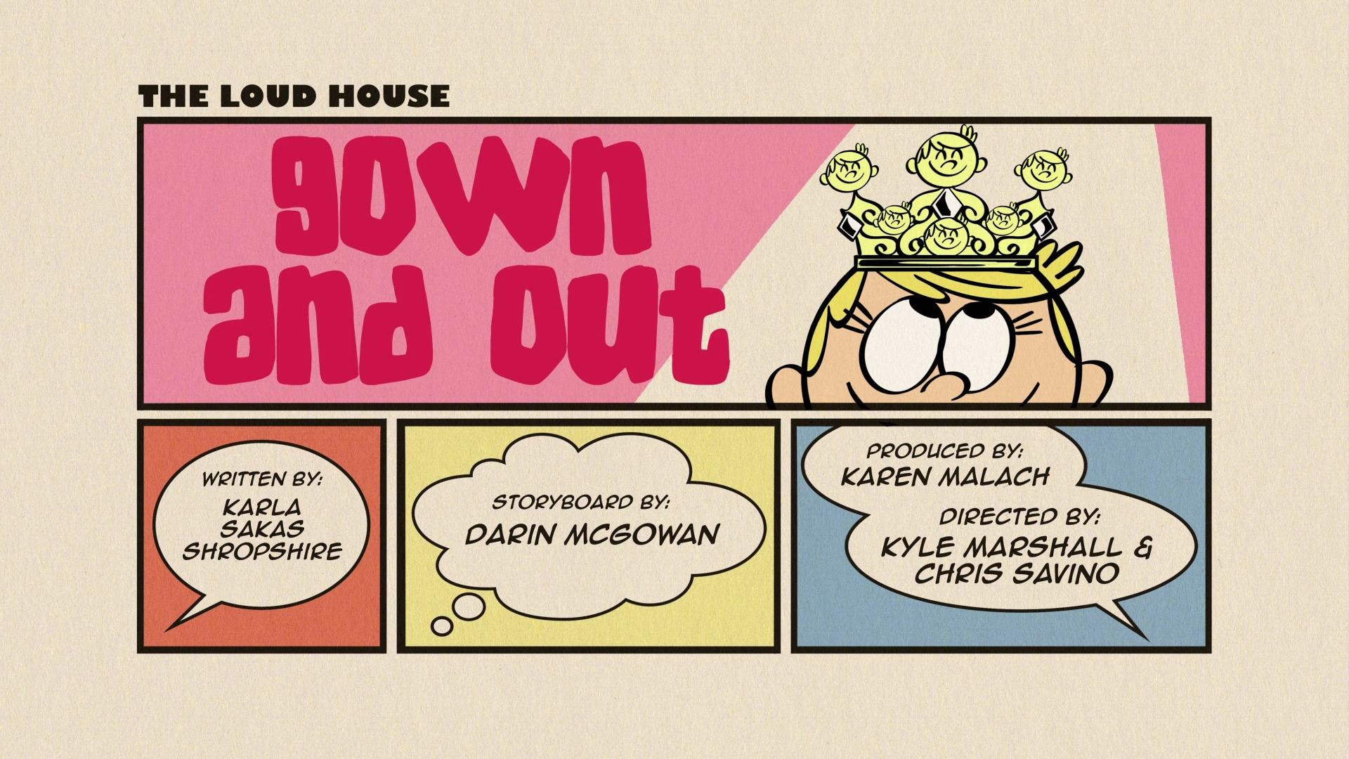 Gown And Out The Loud House Encyclopedia Fandom Powered By Wikia