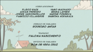 Creditos de doblaje The Loud House PTBR (S110-2)