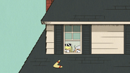 S4E25B Lincoln and Leni spying on Luna