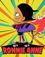 S4E03A Heroic Ronnie Anne Promotional art