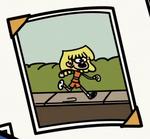 Lori's Orange Jogging Outfit