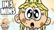 """The """"Toads and Tiaras"""" Episode in 5 Minutes! Loud House"""