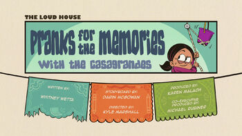 The loud house Temporada 04 Capitulo 04B - Pranks for the Memories with the Casagrandes