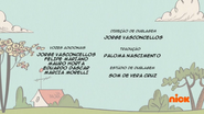Creditos de doblaje The Loud House PTBR (S215-2)