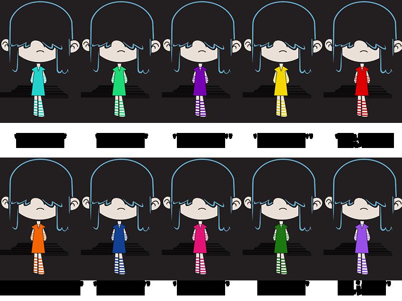 Lucy Color Swap Final Version