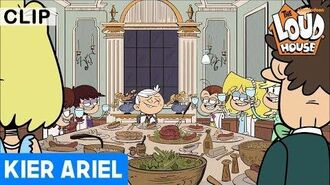 """A Tale of Two Tables"" Clip 1 (Tagalog Dubbed) The Loud House Kier Ariel"