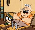 Lisa and Albert relaxing