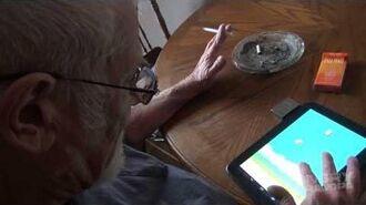 Angry Grandpa Plays Flappy Bird