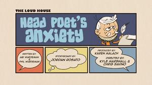 Head Poet's Anxiety