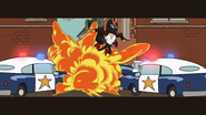 S3E05B Explosion stunt