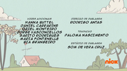 Creditos de doblaje The Loud House PTBR (S114-2)