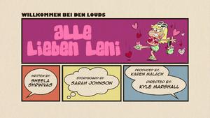 Alle lieben Leni